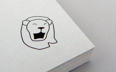 Flip book – roaring lion